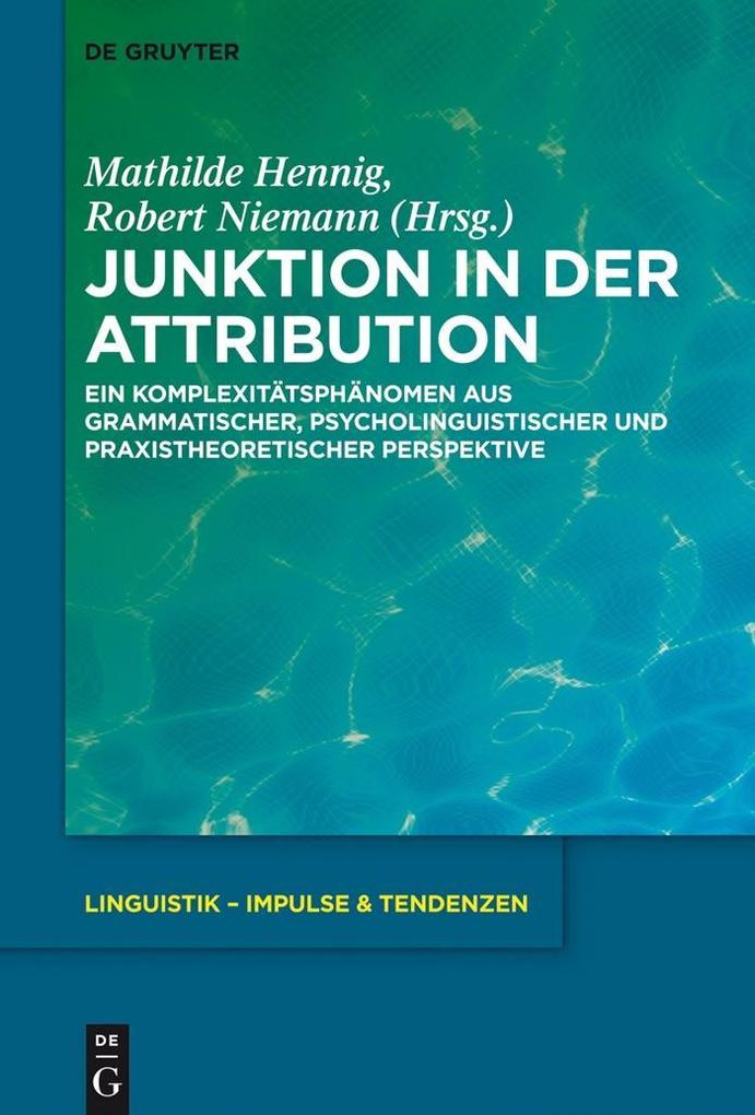 Junktion in der Attribution als eBook
