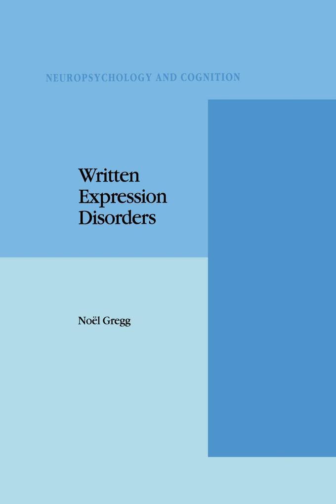 Written Expression Disorders als Buch (gebunden)