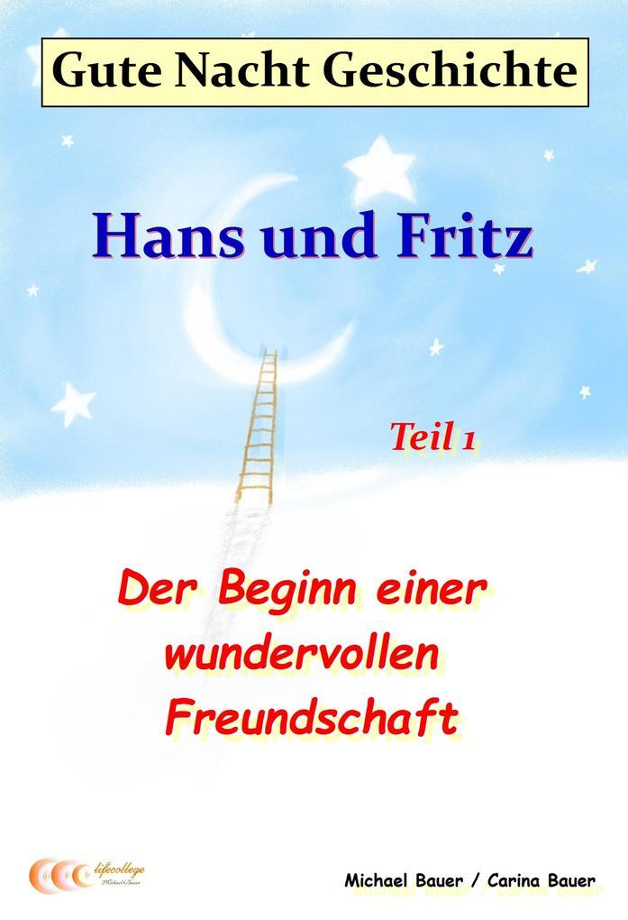 Gute-Nacht-Geschichte: Hans und Fritz - Der Beginn einer wundervollen Freundschaft als eBook epub