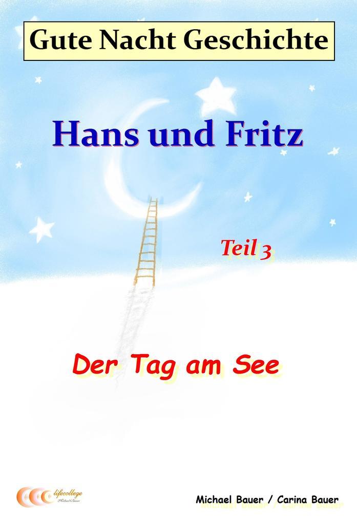 Gute-Nacht-Geschichte: Hans und Fritz - Der Tag am See als eBook epub