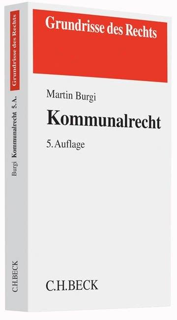 Kommunalrecht als Buch