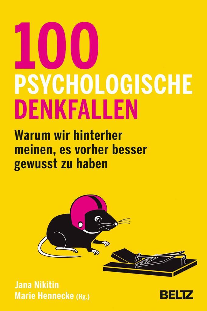 100 psychologische Denkfallen als eBook