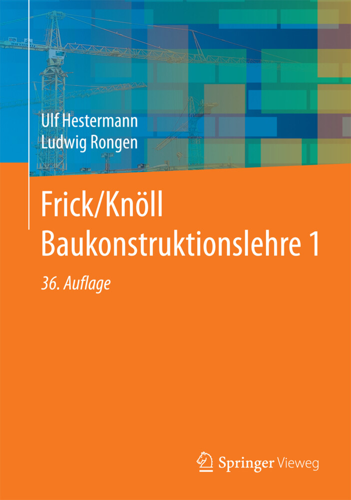 Frick/Knöll Baukonstruktionslehre 1 als Buch