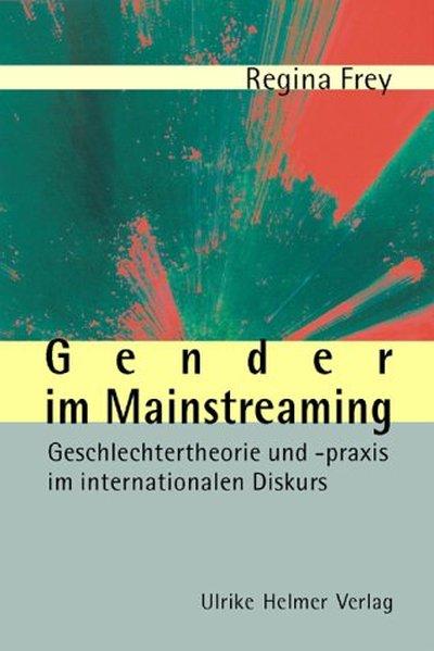 Gender in Mainstreaming als Buch