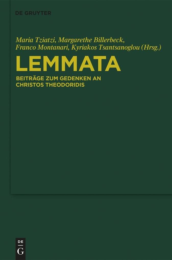 Lemmata als eBook epub