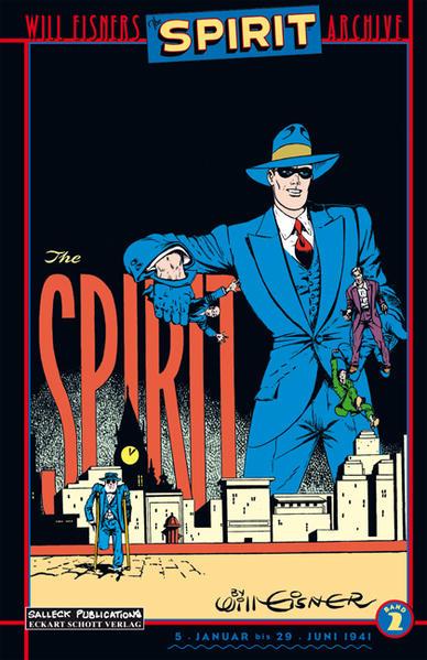 Der Spirit als Buch