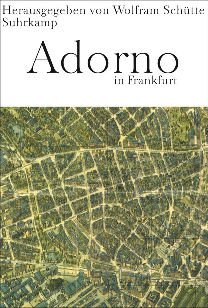 Adorno in Frankfurt als Buch