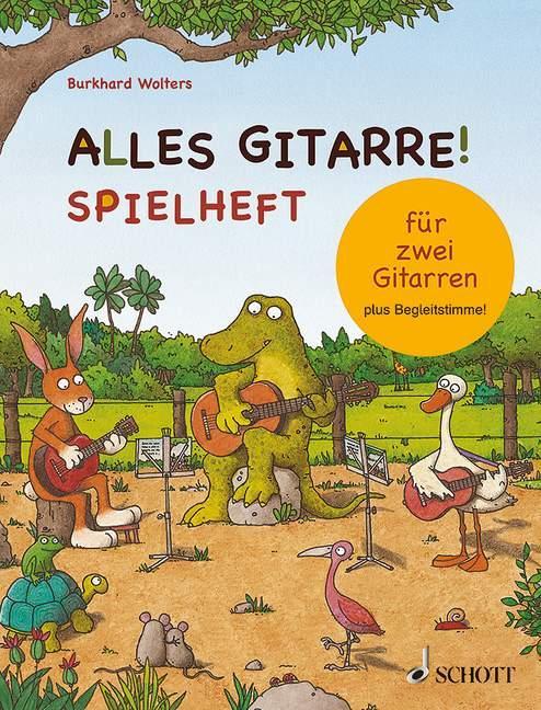 Alles Gitarre! als Buch von Burkhard Wolters