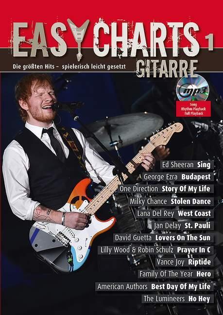 Easy Charts für Gitarre