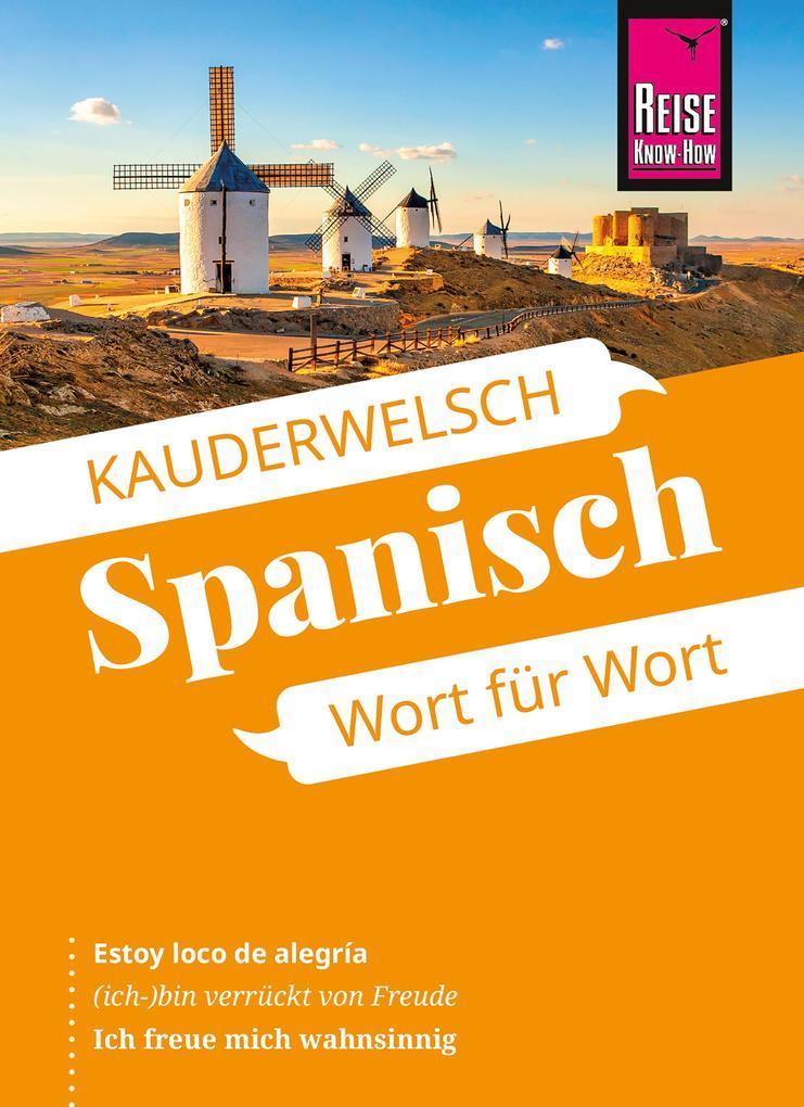 Spanisch - Wort für Wort als eBook