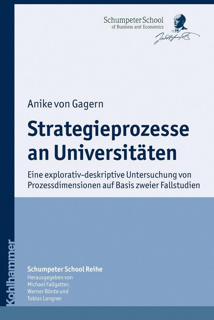 Strategieprozesse an Universitäten als eBook epub