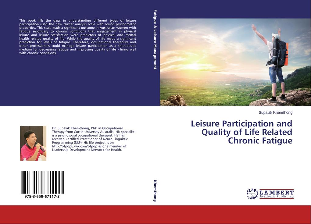 Leisure Participation and Quality of Life Related Chronic Fatigue als Buch