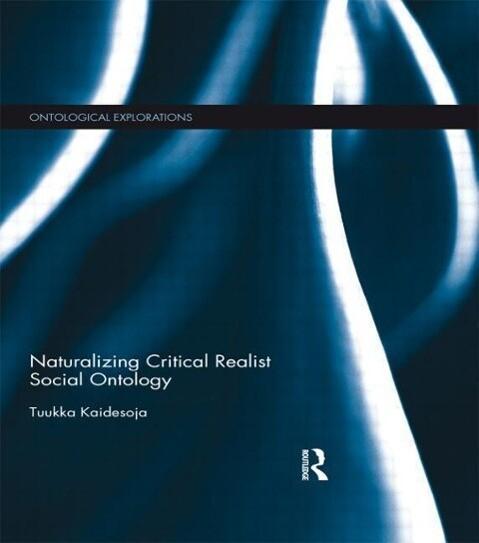 Naturalizing Critical Realist Social Ontology als Taschenbuch