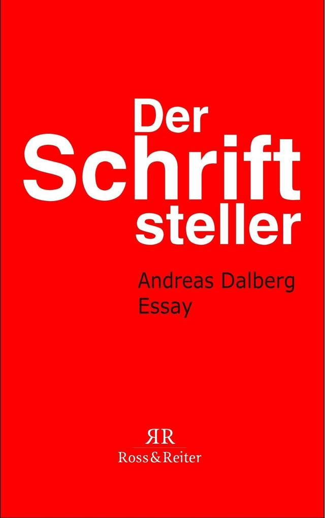 Der Schriftsteller als eBook