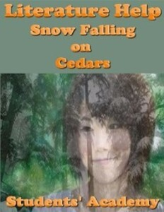 a literary analysis of snow falling on cedars Description : a study guide for david guterson's snow falling on cedars, excerpted from gale's acclaimed novels for students this concise study guide includes plot summary character analysis author biography study questions historical context suggestions for further reading and much more for any literature project, trust.