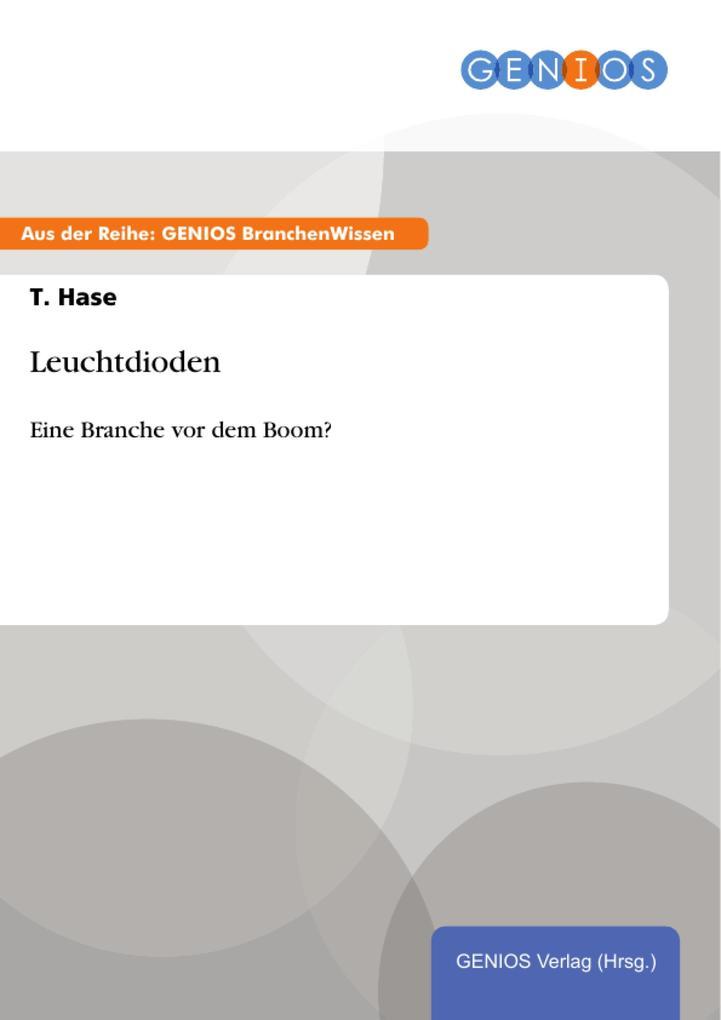 Leuchtdioden als eBook von T. Hase