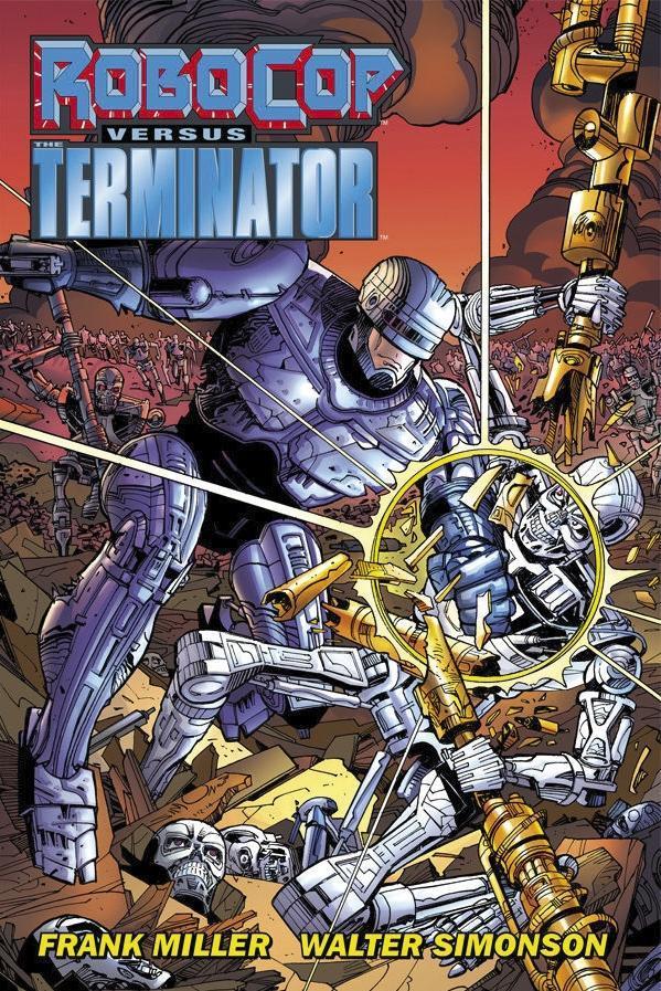 RoboCop versus the Terminator als Buch