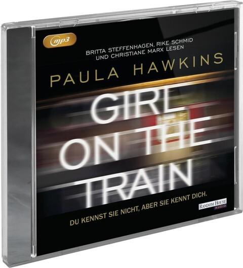 Girl on the Train - Du kennst sie nicht, aber sie kennt dich, 2 MP3-CDs als Hörbuch