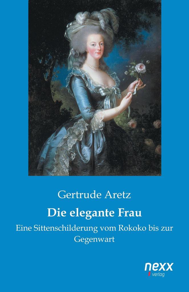 Die elegante Frau als Buch