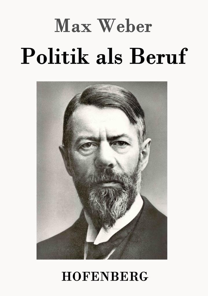 Politik als Beruf als Buch
