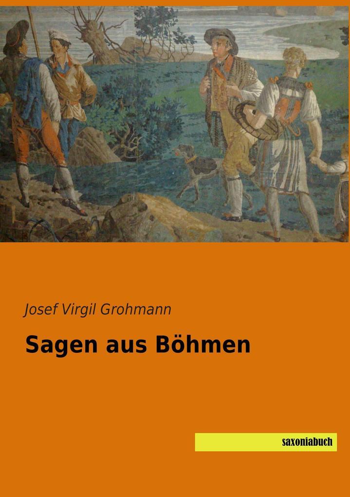 Sagen aus Böhmen als Buch von