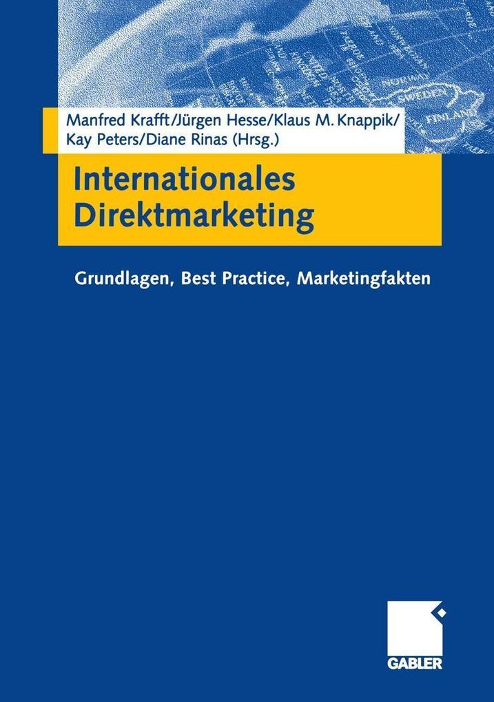 Internationales Direktmarketing als eBook pdf
