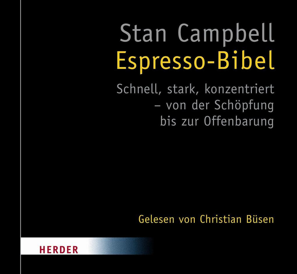 Espresso-Bibel als Hörbuch Download