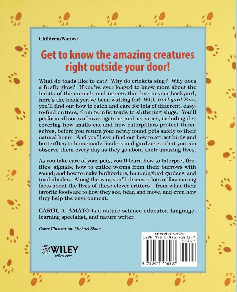 Backyard Pets als Taschenbuch