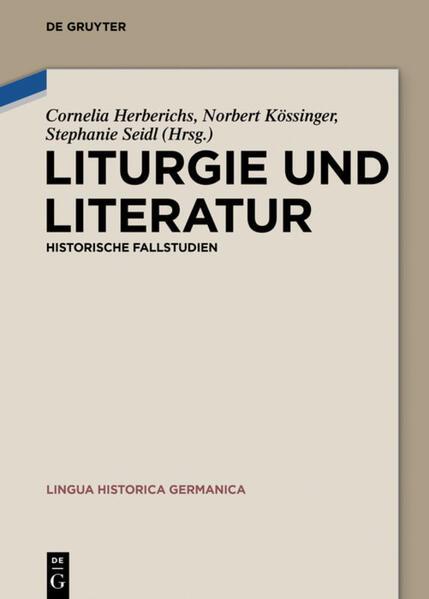 Liturgie und Literatur als Buch (gebunden)