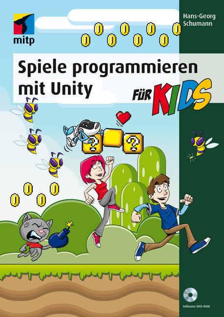 Spiele programmieren mit Unity als Buch