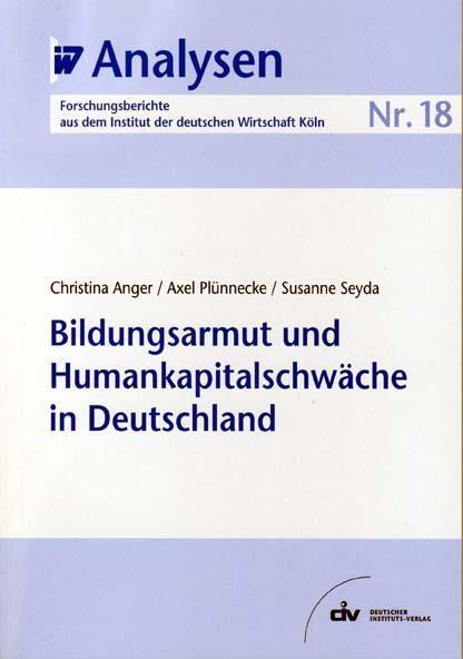 Bildungsarmut und Humankapitalschwäche in Deutschland als eBook