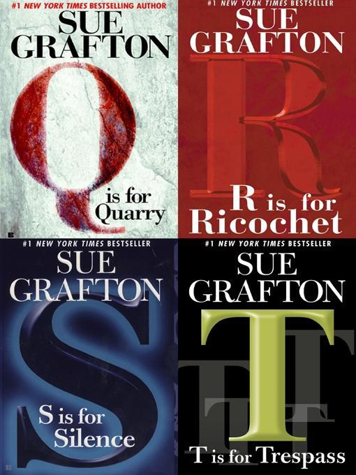 Four Sue Grafton Novels als eBook