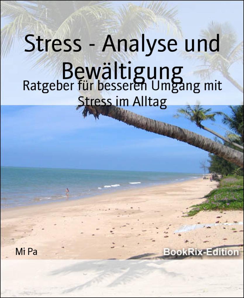 Stress - Analyse und Bewältigung als eBook