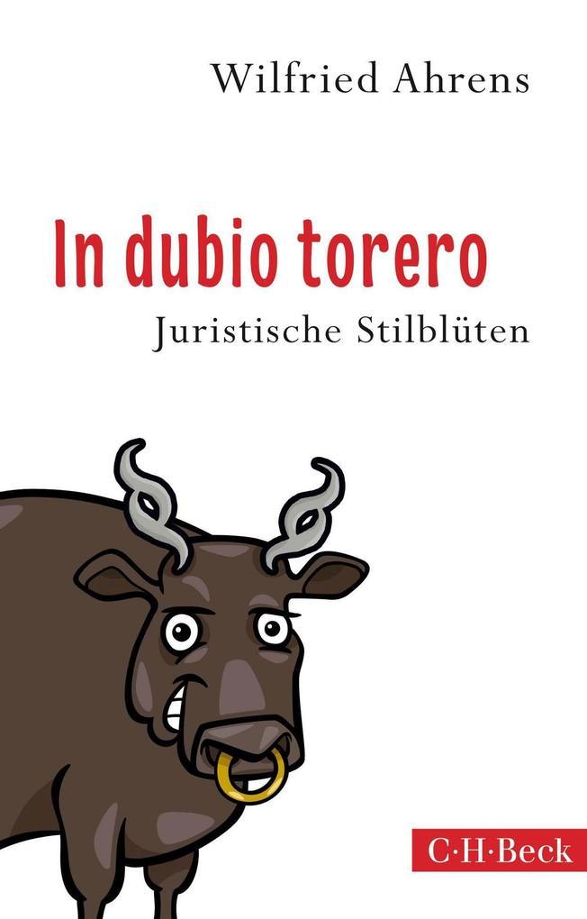 In dubio torero als Taschenbuch