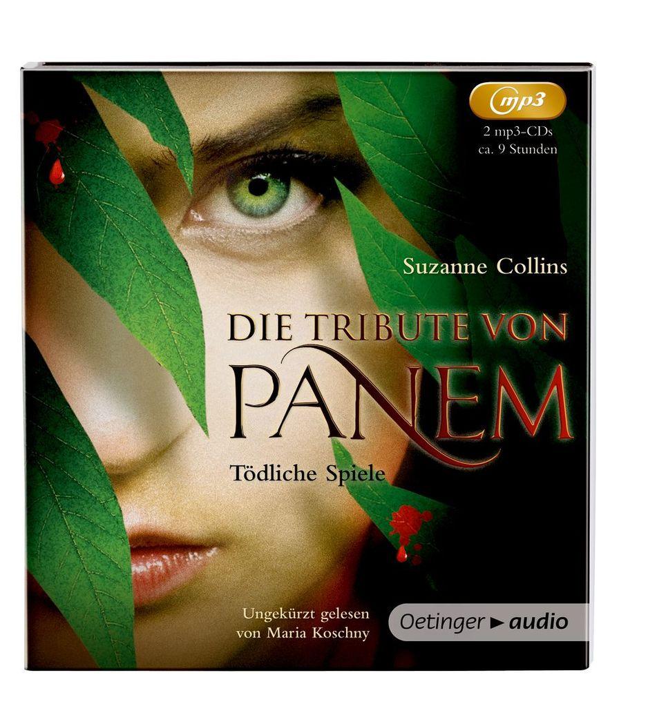 Die Tribute von Panem 01: Tödliche Spiele (2 MP3 CDs) als Hörbuch