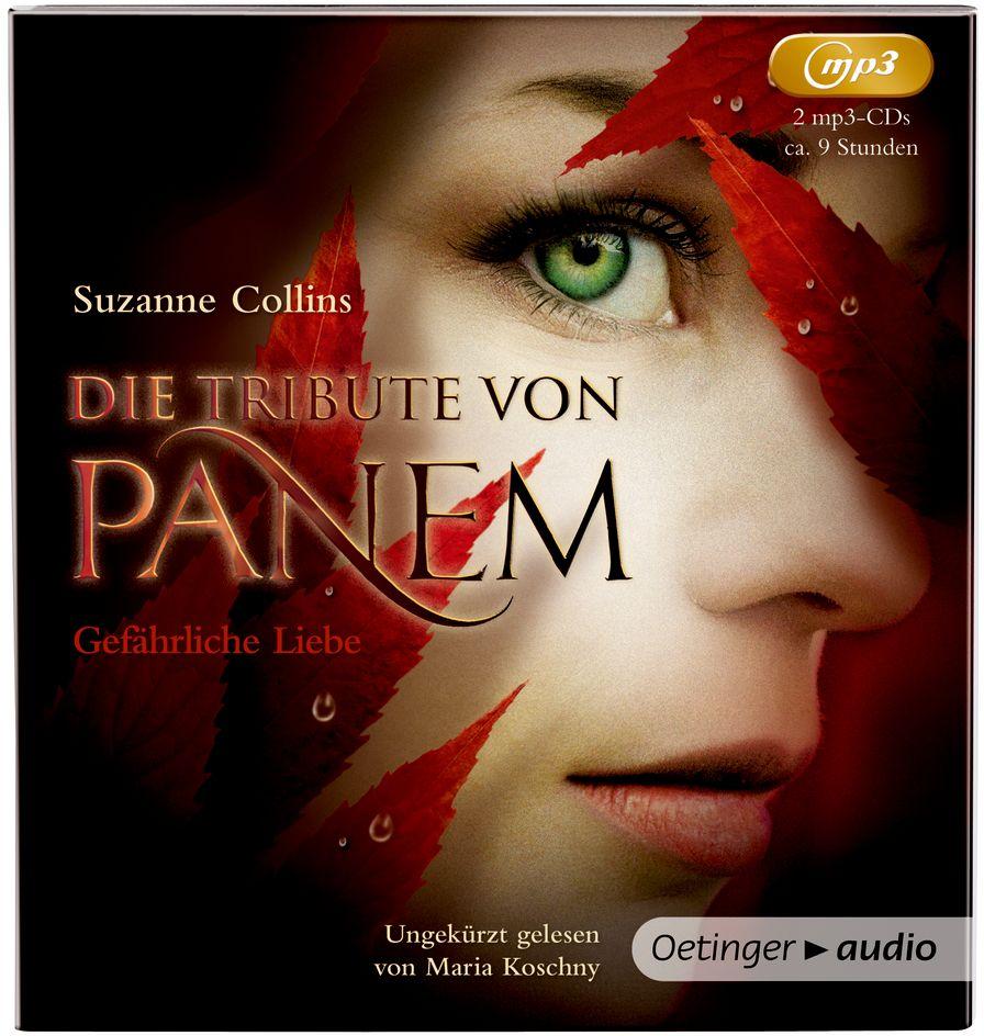 Die Tribute von Panem 02: Gefährliche Liebe (2 MP3 CDs) als Hörbuch
