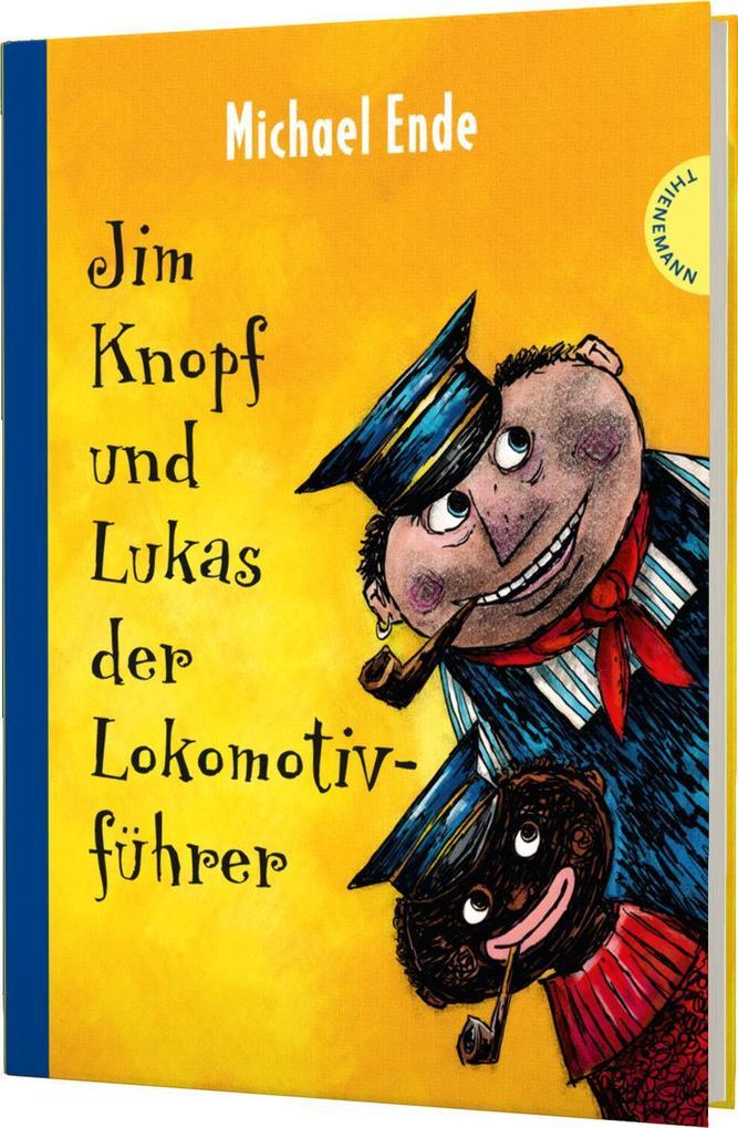 Jim Knopf und Lukas der Lokomotivführer. Kolorierte Neuausgabe als Buch von Michael Ende