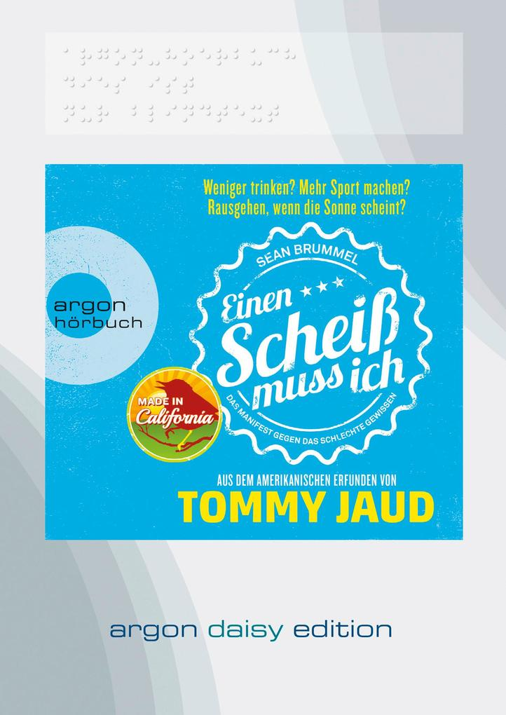 Sean Brummel: Einen Scheiß muss ich (DAISY Edition) als Hörbuch