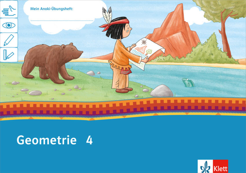Mein Indianerheft. Geometrie Arbeitsheft 4. Schuljahr als Buch