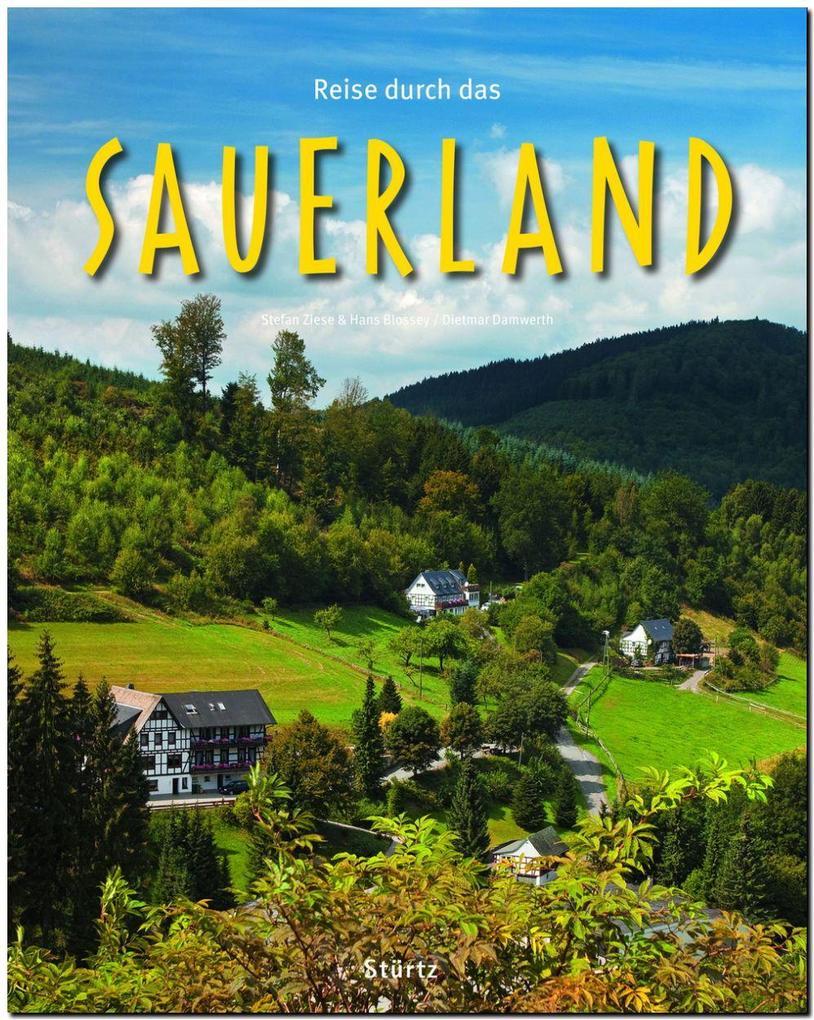 Reise durch das SAUERLAND als Buch