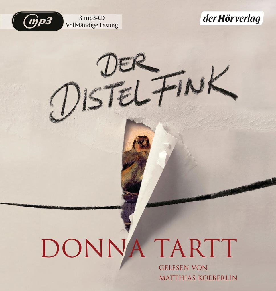 Der Distelfink als Hörbuch CD