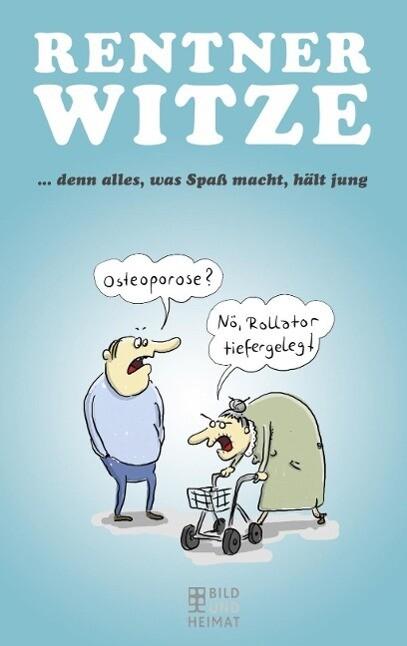 Rentner Witze als Buch von