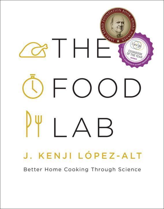 The Food Lab als Buch von J. Kenji Lopez-Alt