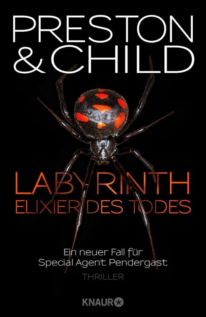 Labyrinth - Elixier des Todes als Buch