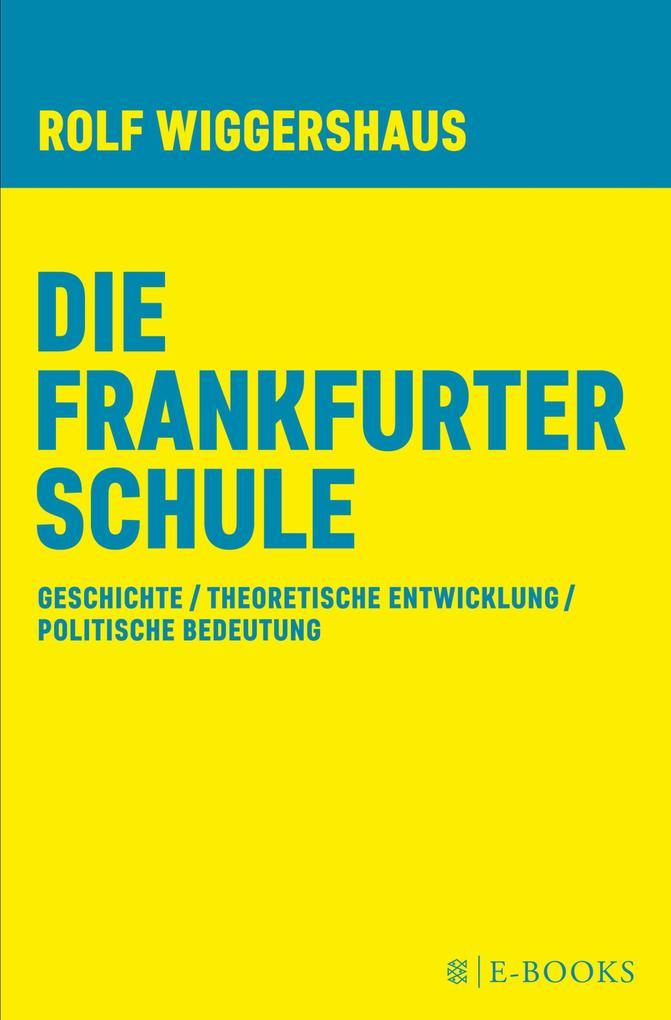 Die Frankfurter Schule als eBook