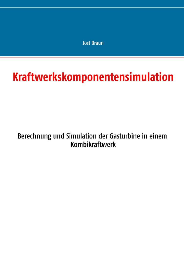 Kraftwerkskomponentensimulation als Buch (kartoniert)