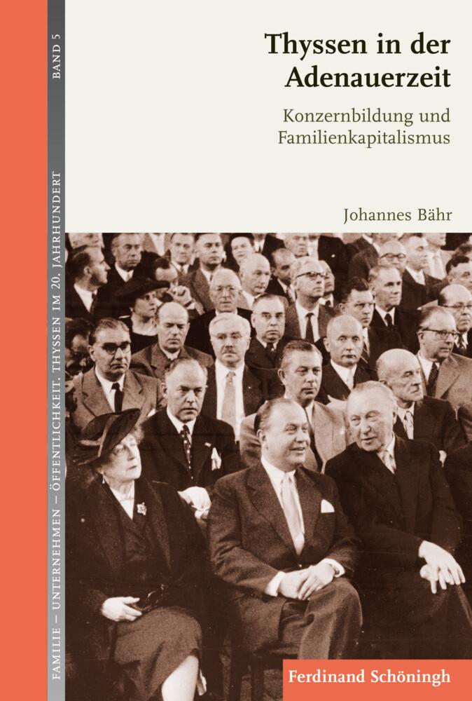 Thyssen in der Adenauerzeit als Buch