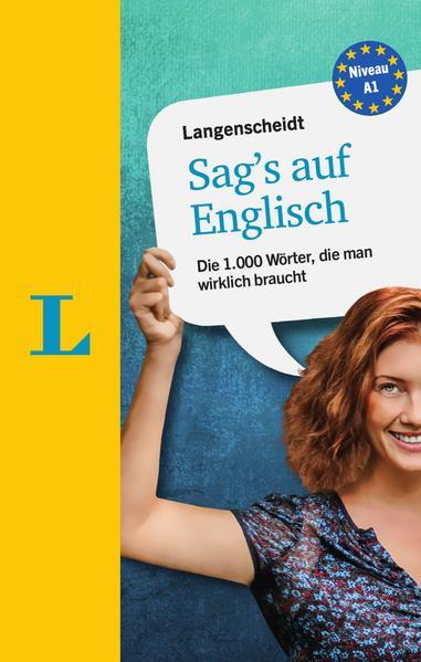 Langenscheidt Sag's auf Englisch als Buch
