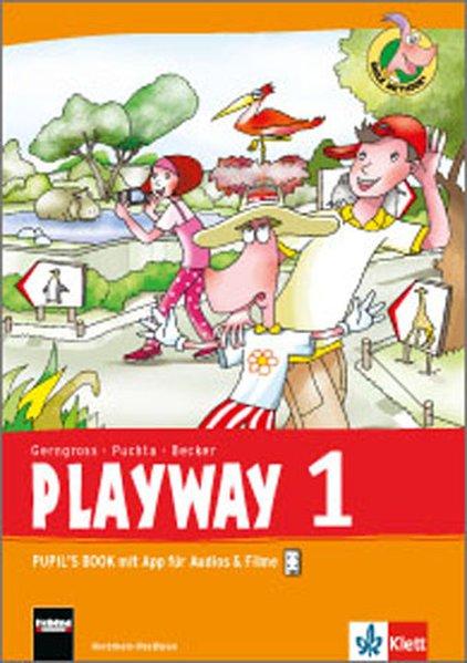 Playway ab Klasse 1. 1.Schuljahr. Pupil's Book mit App für Filme&Audios als Buch