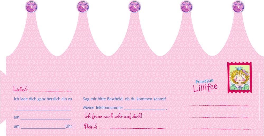 Einladungskarten Prinzessin Lillifee   Ich Lade Dich Ein! 10 Zauberhafte  Einladungskarten